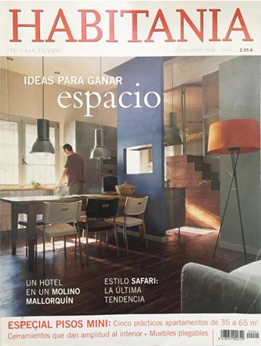 Artículo sobre perfilerías de diseño en Habitania